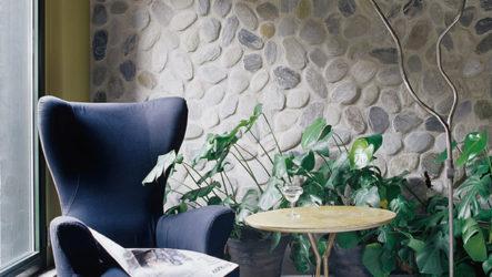 Декоративный камень в интерьере – идеи для декора