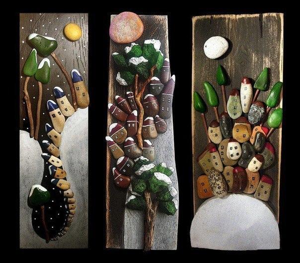 Декоративные работы своими руками из камней