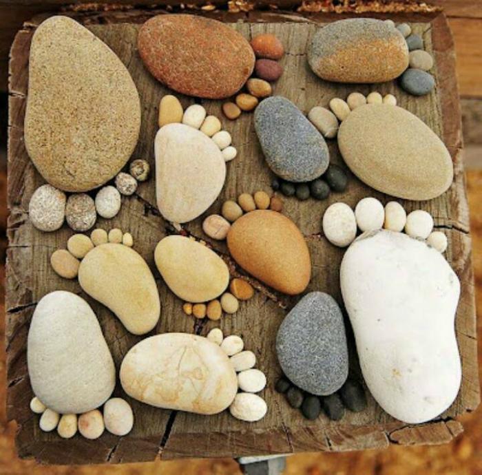 Поделки из камней своими руками на картоне для 1 класса