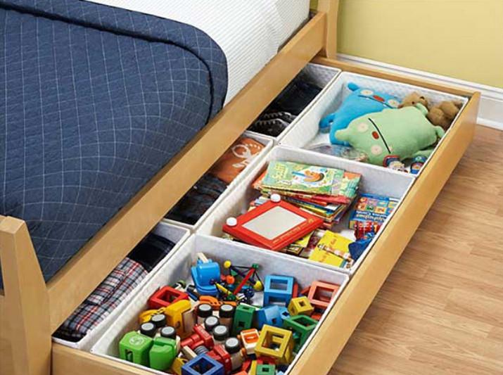 Система хранения вещей для детской своими руками 5