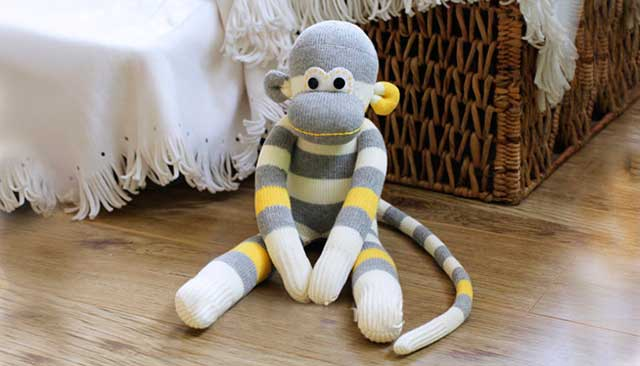 Делаем обезьянку своими руками