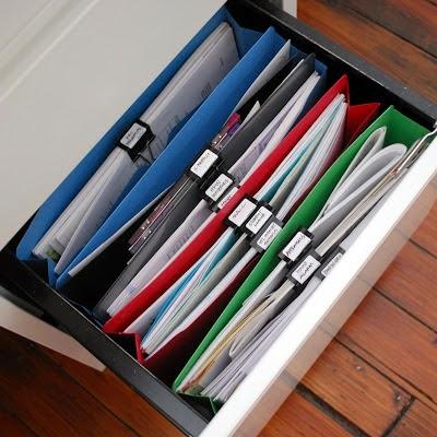 Идеи для хранения документов дома своими руками 2