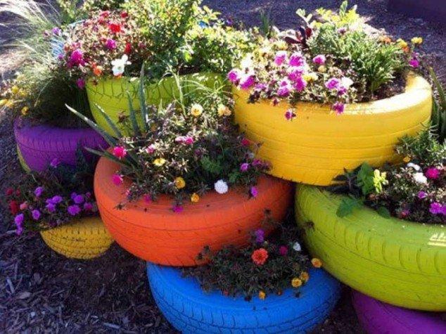 Дизайн огорода своими руками цветов