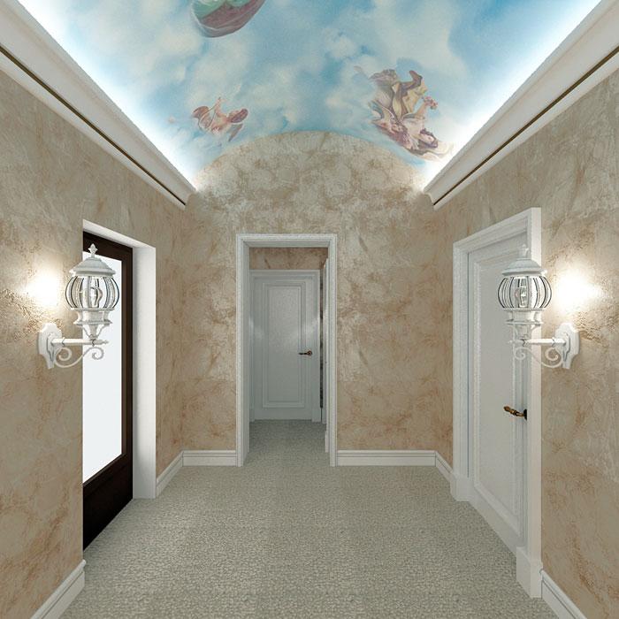 Венецианская штукатурка фото в интерьере квартиры фото