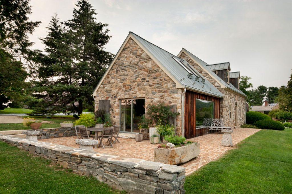 дом из природного камня проекты и фото менее, существует целая