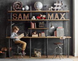 Оформление дизайна детской комнаты для мальчика
