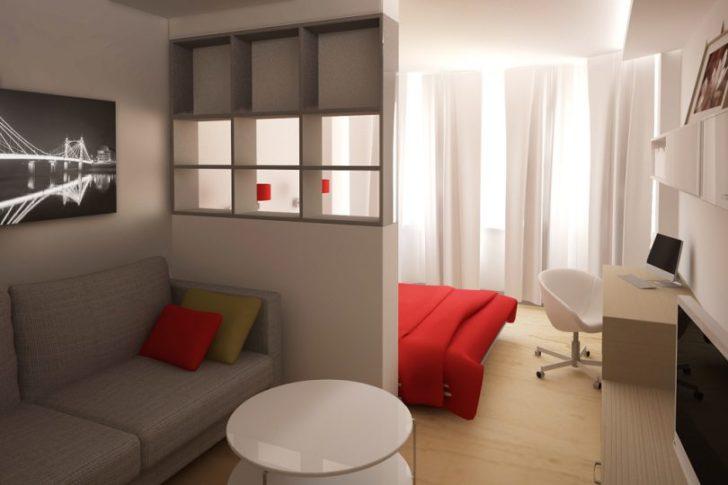 приставной разделение квартиры на 2 зоны где диван