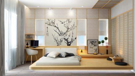 Минимализм интерьера в японском стиле