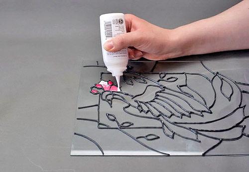 Как рисовать без разводов