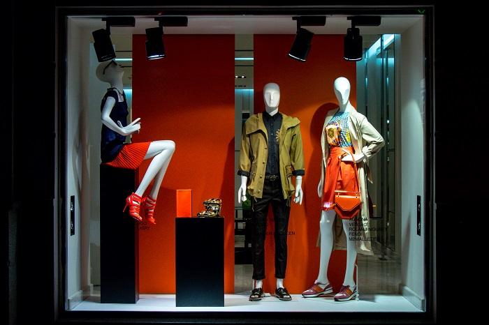 дизайн магазина одежды