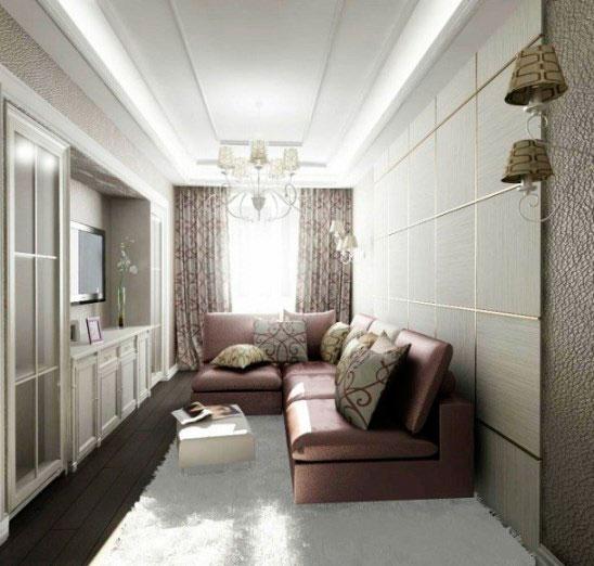 интерьер комнаты 12 кв. м