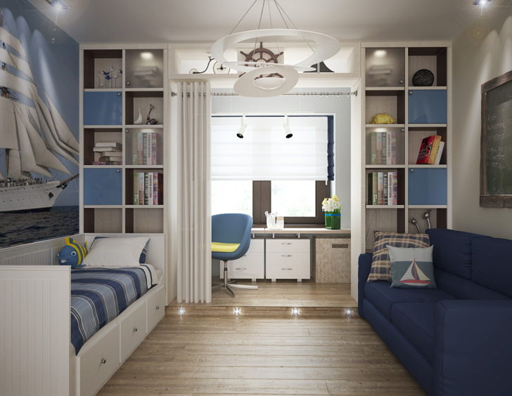 интерьер комнаты 12 кв м дизайн фото примеров