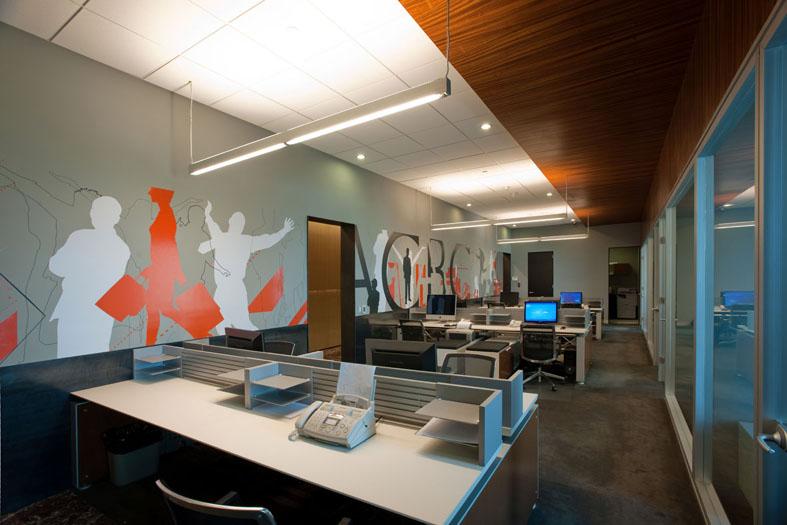 Проект дизайн интерьера офиса 41