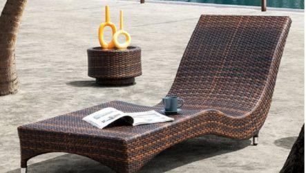 Обустройство загородного дома и дачи садовой мебелью из искусственного ротанга