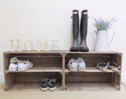 Как сделать полки для обуви своими руками