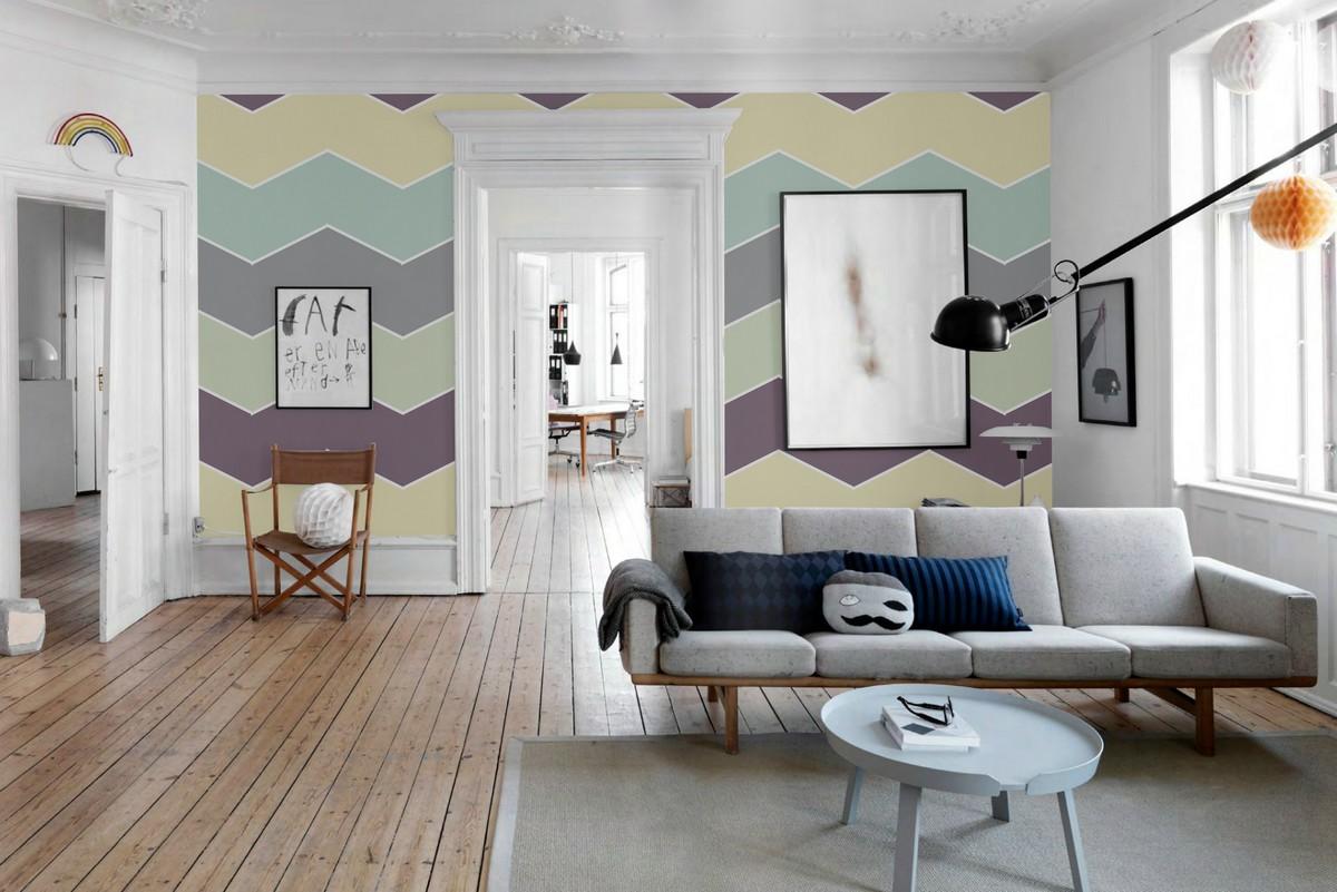 коллекция варианты покраски стен в квартире фото если