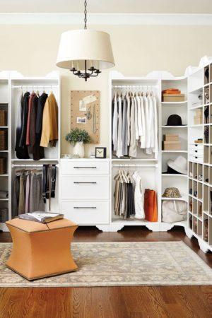 Дизайн и планировка гардеробных комнат разных размеров