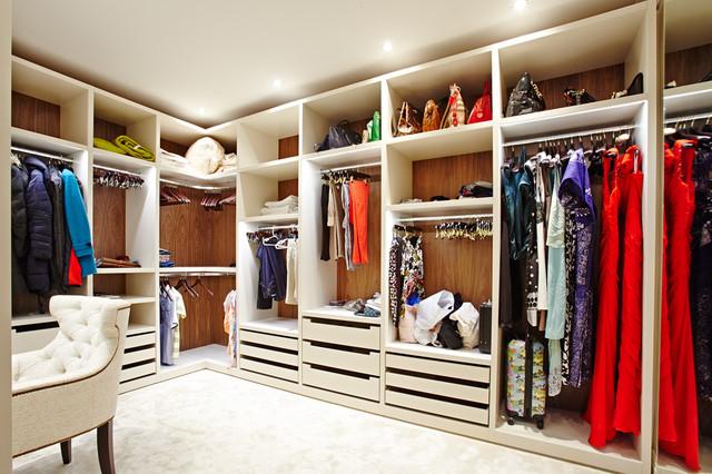 Домашние гардеробные фото
