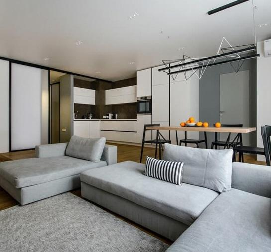 дизайн квартиры 50 кв м