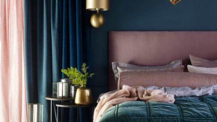 Модные акценты в дизайне спальни для девушки: тренды 2018 года