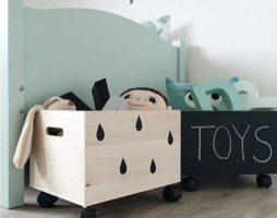 Как сделать ящик для детских игрушек своими руками