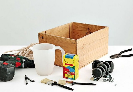 ящик для игрушек своими руками