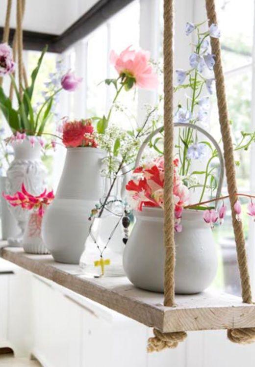 полка для цветов