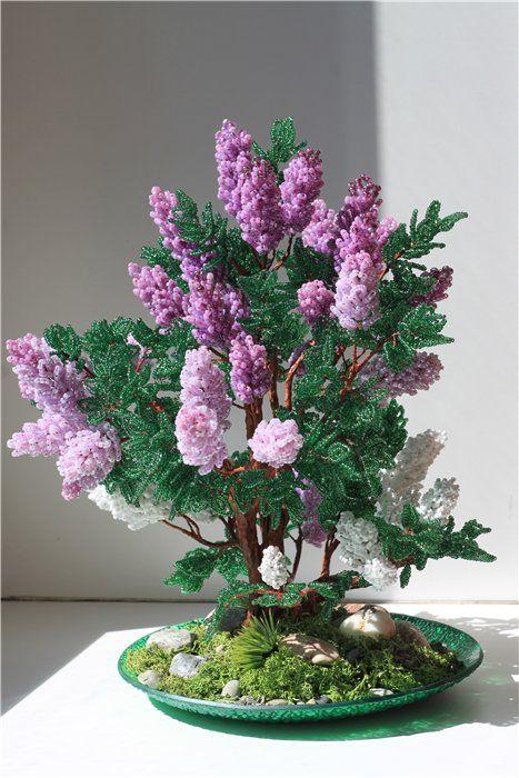 23-8 Цветы и букеты из бисера — Цветы букеты