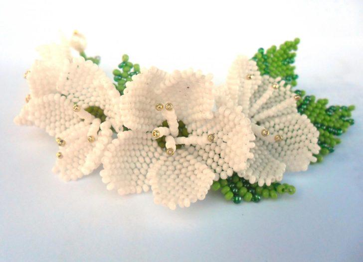 24-7-728x527 Цветы и букеты из бисера — Цветы букеты