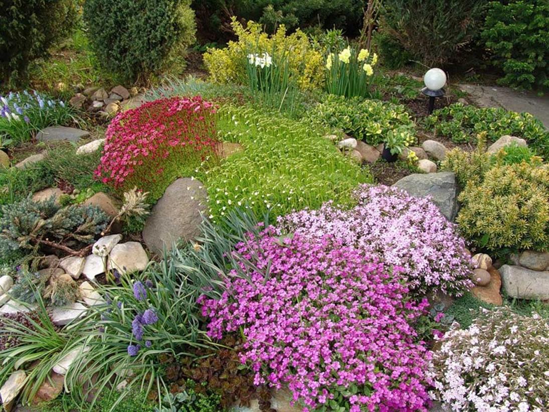 Интересные идеи по оформлению сада фото