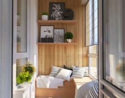 Отделка балконов и лоджий внутри и снаружи с фото