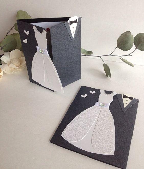 Делаем своими руками открытку на свадьбу, последний