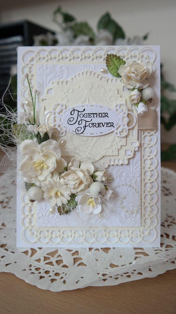 Открытка на свадьбу 40 лет совместной жизни своими руками, сделать открытку марта