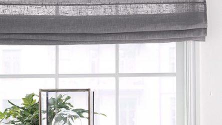 Римская штора: безграничные способности декора окон