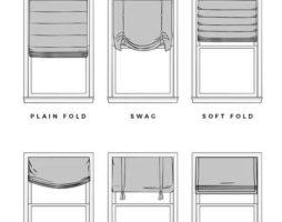 Как сделать римские шторы своими руками: пошаговая инструкция пошива и идеи оригинального декора окон
