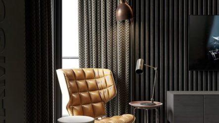 Идеальные шторы в гостиной, их особенности и правила выбора