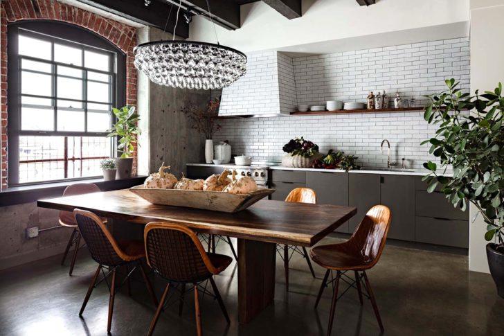 На фото – кухня в экостиле