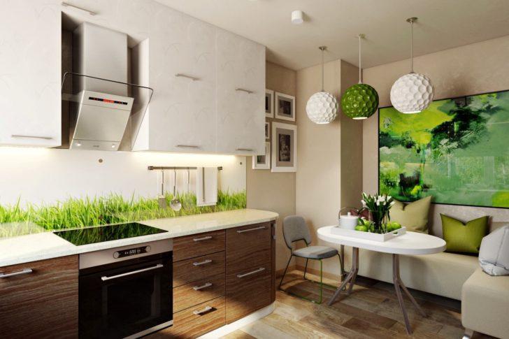 Зелень как элемент декора