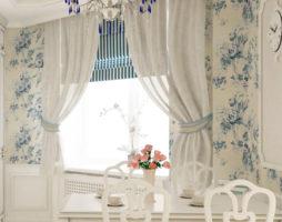Шьем шторы на кухню своими руками