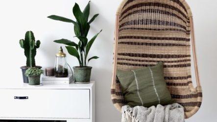 Подвесные кресла: способы применения «мебельных качелей» в интерьерном и ландшафтном дизайне