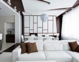 Дизайн потолка в гостиной с фотографиями