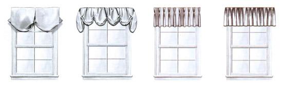 шторы на кухню своими руками