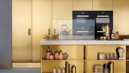 Эксклюзивный шик золотой кухни, секреты оформления