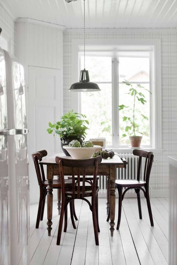 дизайн кухни под старину