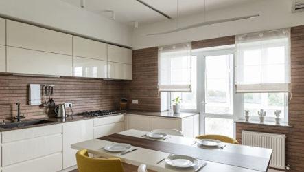 Применение вагонки в оформлении кухонного интерьера