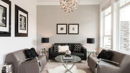 Функциональность и гармония гостиной в стиле модерн