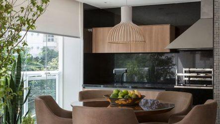 Кожаная мебель в интерьере кухни: способы применения изысков мебельной индустрии