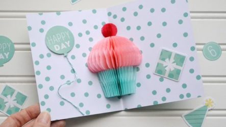 Как сделать своими руками объемные открытки на день рождения, 8 марта или 23 февраля