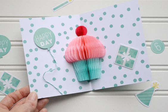 01-8 Как сделать из бумаги открытку