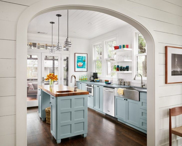 арка в интерьере кухни